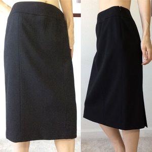 LAFAYETTE 148 Neiman Marcus Black Pencil Skirt